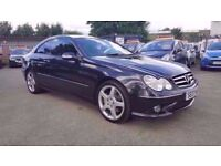 MERCEDES CLK 2.1 CDI 220 SPORT COUPE AUTOMATIC 2 DOOR 2007 / FULL DEALERSHIP HISTORY / FULL LEATHER