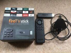 Amazon Firestick (nearly new) with Kodi