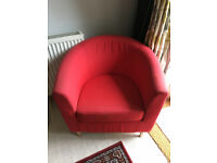 Red IKEA Armchair - Tullsta