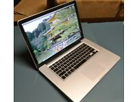 APPLE MACBOOK PRO 15.4 ANTIGLARE,CORE I7 2.2GHZ 2820QM QUAD CORE,500GB SSD,8GB RAM,MINT CONDITION