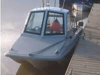 17ft o brian fishing boat