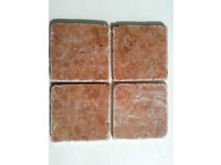 Rosso Verona Italian Antique Marble tiles. £12.50 a box of 50 - 7.5 sq mtrs available