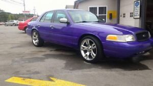 V8 crown Vic with super chip and subs