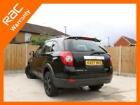 2008 Chevrolet Captiva 2.0 VCDI Turbo Diesel 148 BHP LT Auto 7-Seater 4x4 4WD On