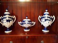 Beautiful Blue & White Vases