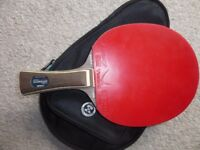 Table Tennis Racket Stiga Classic Offensive Carbon + Yasaka Rakza7 + Case