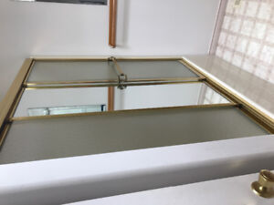 Brass shower doors for sale