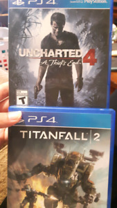 2 PS4 games for sale