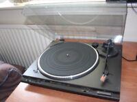 Technics record deck