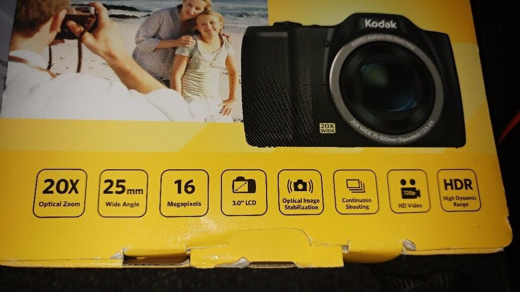 Kodak camerain Carlton, NottinghamshireGumtree - Kodak PIXPRO FZ201 digital camera for sale. Used for 2 times so like brand new. Collection NG4 1NA