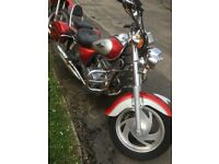 125cc Motorbike cruiser spares or repair