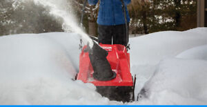 Snow Thrower Tune Up