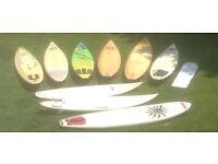 Surfboards Vintage 1980s - Modern Custom Shapes