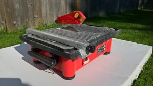 Wet Tile Saw with Laser