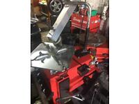 Diamond cut alloy refurb machine polish effect alloy refurbish machine corghi smart repair alloys