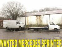 MERCEDES SPRINTER VAN WANTED