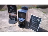 Rijo 42 Commercial Coffee Including Sign & Menu Hot Drinks Machine Vending Cafe L@@K