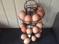 Organic / free range chicken eggs