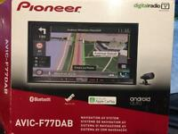 Pioneer Avic F77 - DAB