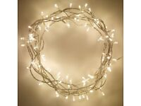 100 LED Warm White Fairy Lights With Transformer - Brand New - Kilmarnock Area