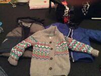 Bundle of outerwear age 1-2