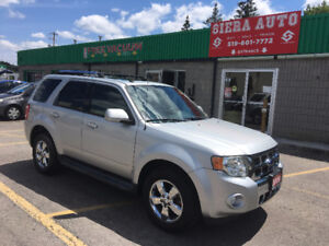 2009 Ford Escape Limited**4WD**LOW KMS**BLUETOOTH**MINT**