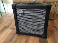 Roland cube amp 20 XL.