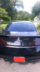 2005 infiniti g35 coupe, 6 speed manual