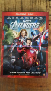 AVENGERS DVD & BLURAY