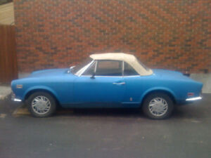 FIAT SPIDER 124 PARTS FOR SALE 1966 - 1974