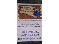 M&S Plastering