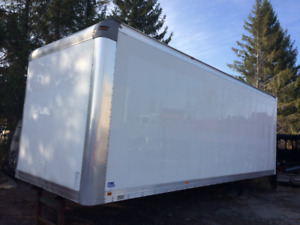 24' ITBC van body with 3000 lbs liftgate
