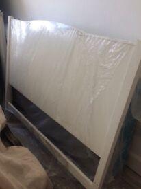 Double bed headboard & base frame