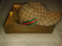 Men's Luxury Stylish Baseball cap Boxed with tags!