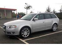 2005 AUDI A4 ESTATE 1.9 TDI SE - NICE CAR, GOOD MPG, 1 YEARS MOT, UPGRADED ALLOYS
