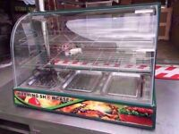 CATERING DISPLAY CABINET COMMERCIAL BAKERY MACHINE CANTEEN HOT PASTRY CAFETERIA DINER SHOP CAFE