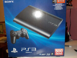 PS3 SONY 500GB/GO