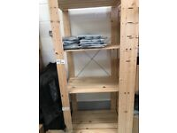Ikea storage shelf for sale, 5 in total