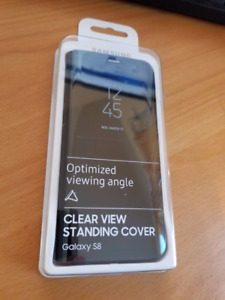 FS: Samsung S8 Clear View Phone Case: $40.00 (MSRP $90.00)