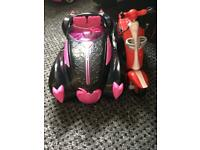 Monster high car and bike