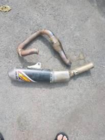 Honda crf 450 fmf exhaust kxf yzf rmz