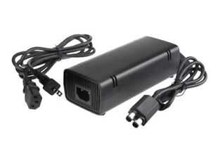 POWER ADAPTER AND VIDEO CABLE.FOR XBOX 360 SLIM.