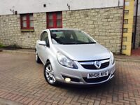 vauxhall corsa 1.2 i 16v sxi hatchback manual mot 1 year full service history 2008 ONLY 39000 MILES