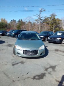 "2005 CHRYSLER SEBRING AUTO 4 CYL 127KMS $1900. CLICK ""SHOW MORE"""