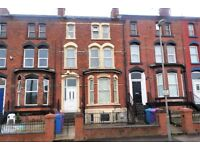 72 St Domingo Vale Fl3, Anfield. Single bed flat with DG & GCH, fitted kitchen. LHA welcome