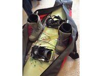 Burton Snowboard, Vans boots & Dakine Boardbag £75 ono