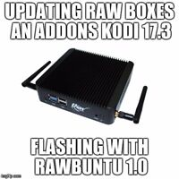 upgrading android and raw tv boxes