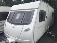 Lunar zenith eb 2008 fixed bed touring caravan