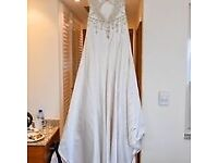 Wedding dress size 8/10 & bridemaid dresses