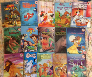 Disney books collection in French